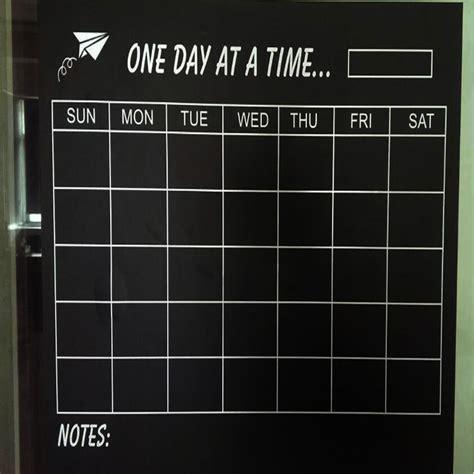 vinyl calendar template vinyl diy weekly chalkboard calendar blackboard sticker planner wallpaper wall decal stickers