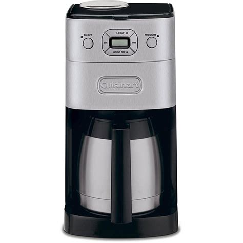 Rest assured, you can modify the steps presented here to suit any size coffee maker in any setting. Shop Cuisinart DGB-650BC Grind & Brew 12-Cup Automatic Coffeemaker - Free Shipping Today ...