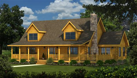 Our New Design Album Featuring Beautiful Log Cabins Homes