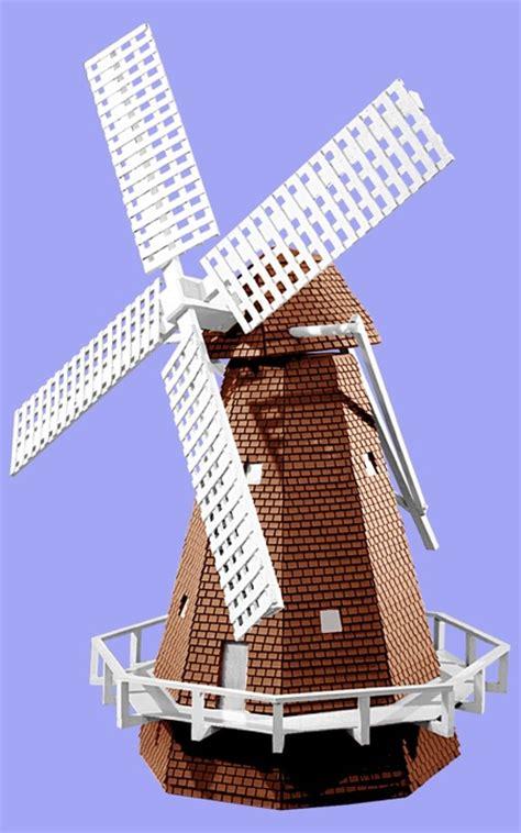 dutch windmill vintage woodworking plan woodworkersworkshop