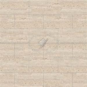 Ligth beige travertine floor tile texture seamless 14765