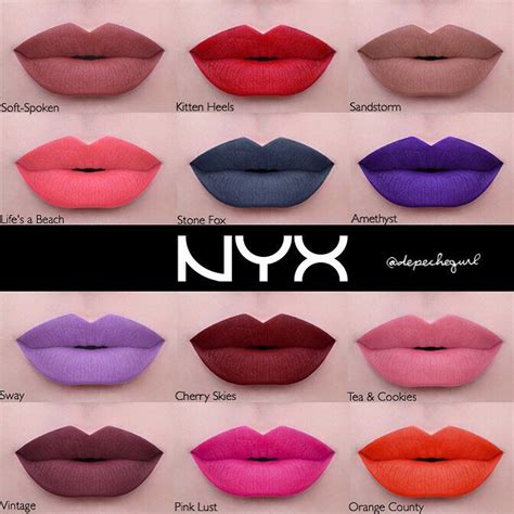 nyx lip colors nyx liquid suede lipsticks launching later this