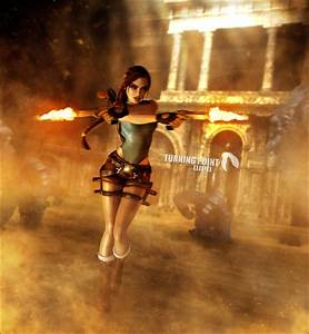Lara Croft Tomb Raider Anniversary Render by ...