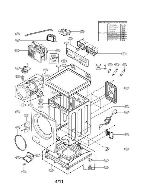 lg washing machine parts model wmhvca sears