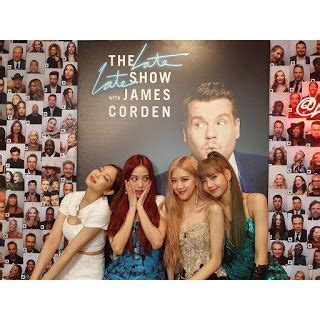 190419 Watch BLACKPINK's Appearance On Late Late Show with ...