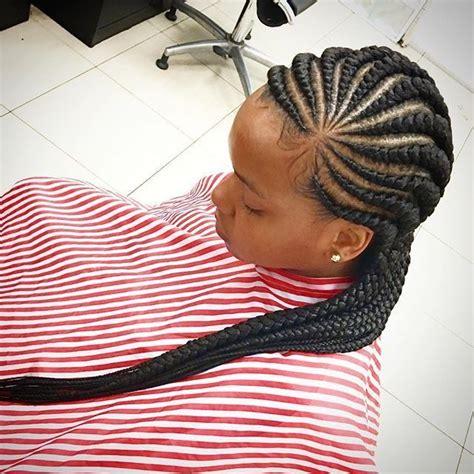 latest ghana weaving hair style  natural hair