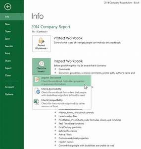 New document inspector for excel powerpoint and word for Document inspector download