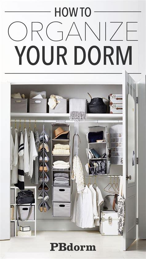 best 25 college closet organization ideas on