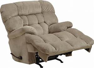 CatNapper Colson Chaise Rocker Reciner With Heat Massage