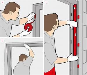 Pose porte d39entree simple pratique en 7 pas for Poser porte d entree