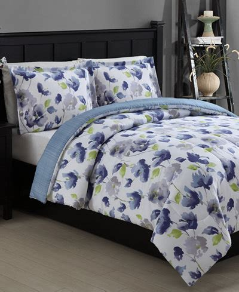 closeout emily reversible  piece twin comforter set