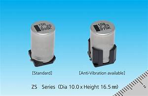 Conductive Polymer Hybrid Aluminum Electrolytic Capacitors