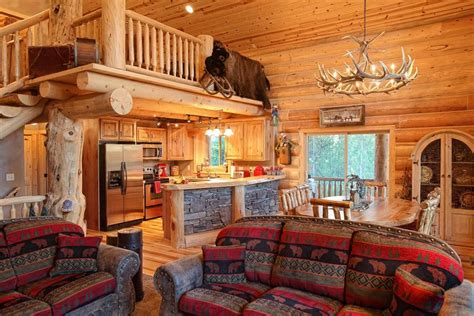 Cabin Interior Pictures by 27 Log Cabin Interior Design Ideas Trulog Siding