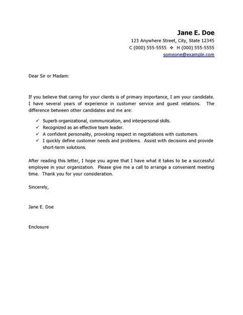 customer service resume cover letter httpwww