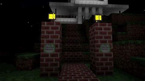 haunted mansion disneyland minecraft youtube