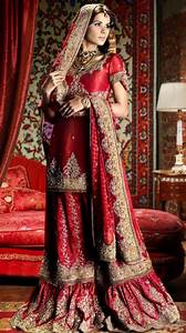 Bridal wear for indian womens bollywood gallery for Red indian wedding dress