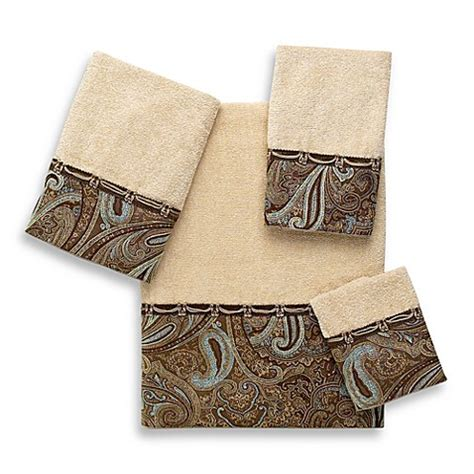 5283 blue and brown towels avanti bradford bath towel collection bed bath beyond