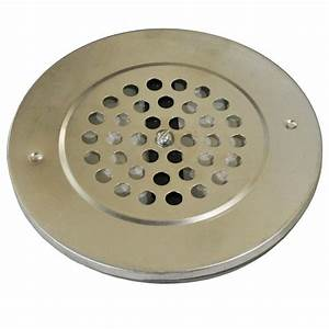 7 in Round Fresh-Air Plate-A2925 - The Home Depot