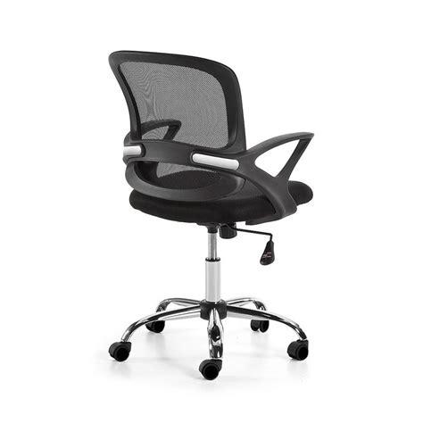 chaise bureau ik饌 chaise de bureau pivotante et 224 roulettes tangier par
