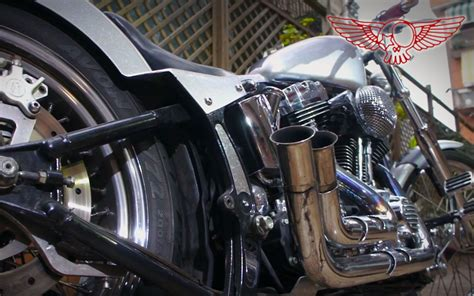 Sportster Peanut Tank On Softail, How To Install