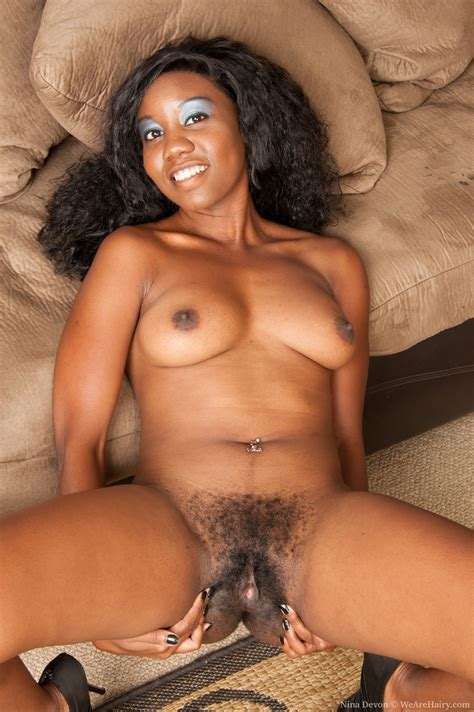 Nina Devon Likes Her Hairy Pussy And Animal Print Pic