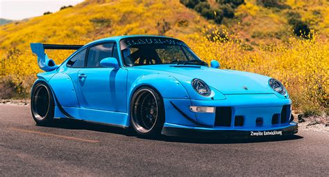 riviera blue porsche     perfect rwb creation