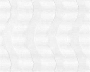 Vliestapete Weiss überstreichbar : vliestapete berstreichbar streifen wei ap pigment 94445 1 ~ Michelbontemps.com Haus und Dekorationen