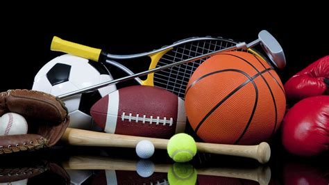Many Accessories For Different Sport Wallpaper Download