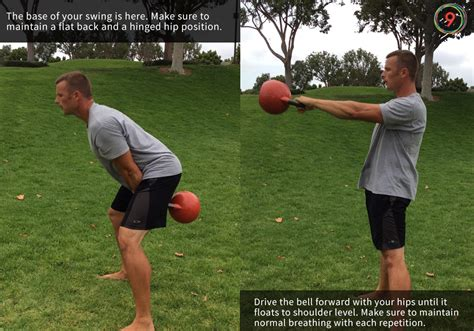 kettlebell swing swings form teaching workouts instruction movements basic depth stay please
