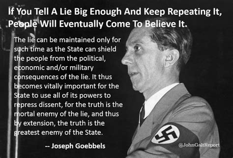 quot if you tell a lie big enough and keep repeating it