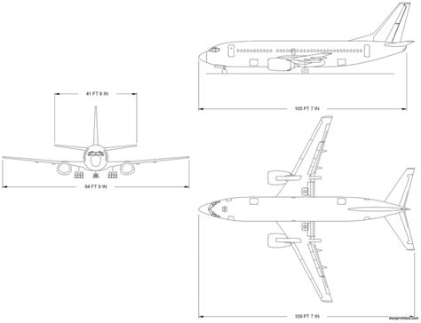 boeing 737 plan sieges boeing 737 300 plans aerofred free model