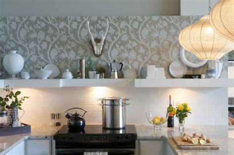 kitchen wallpaper designs ideas 20 kreative ideen f 252 r tapeten im k 252 chenbereich 6471