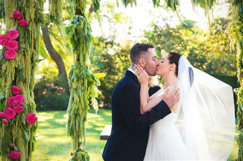 rose mcgowan davey details wedding part  green