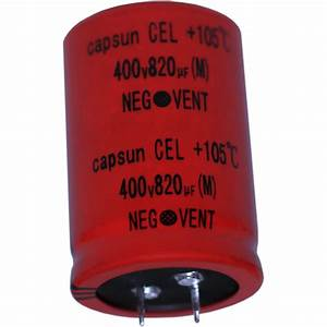 China Various Specifications Of Electrolytic Capacitors