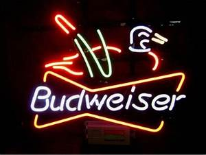 FS Neon Sign Budweiser Duck Handcrafted Neon Light Sign
