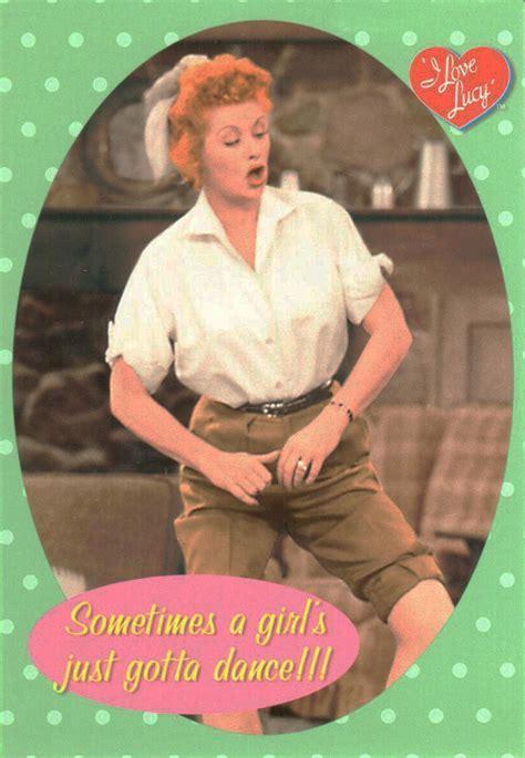 I Love Lucy Jig Dance Postcard   LucyStore.com