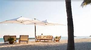 Parasol Grande Taille : le mobilier de jardin le pratique derri re un design futuriste ~ Melissatoandfro.com Idées de Décoration
