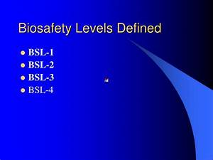 Ppt Biosafety In The Workplace Powerpoint Presentation
