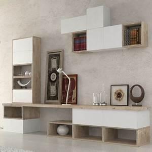 Meuble De Rangement Salon : meuble de rangement salon etnika meuble salon ~ Teatrodelosmanantiales.com Idées de Décoration
