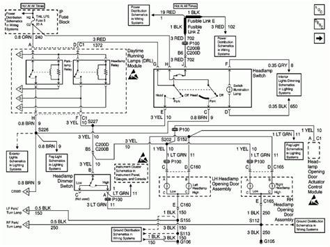headlight wiring diagram ls1tech camaro and firebird wiring