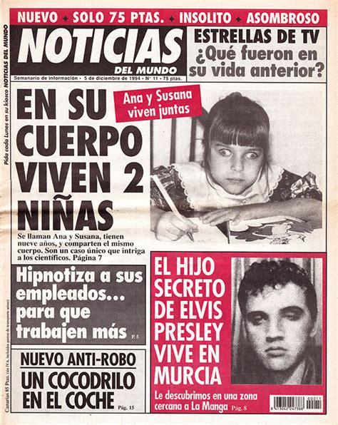 Periódico Noticias del Mundo (1994-95) - El condensador de ...