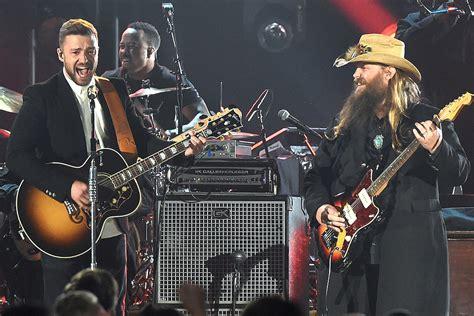 Chris Stapleton And Justin Timberlake Bring People To