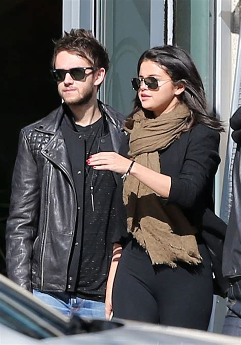 Selena Gomez With Her New Boyfriend DJ Zedd, Out in ...