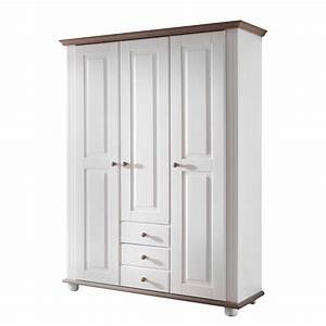 Kleiderschrank 3 Türig Weiß : weiss kleiderschrank 3 t rig preisvergleich die besten angebote online kaufen ~ Bigdaddyawards.com Haus und Dekorationen