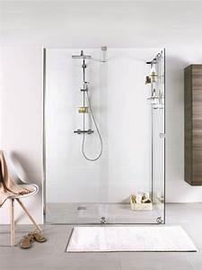 1000 idees sur le theme porte douche italienne sur With porte de douche coulissante avec mosaique nacre salle de bain