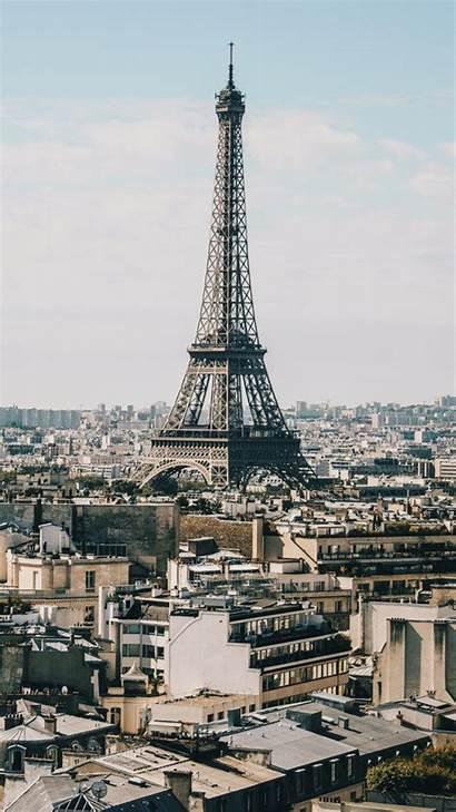 Tower Paris Eiffel Buildings Iphone Background Wallpapers
