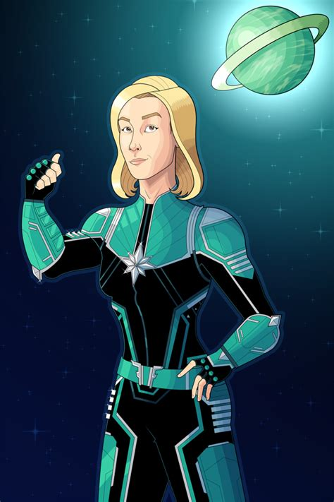 Captain Marvel (2019) By Owenoak95 On Deviantart
