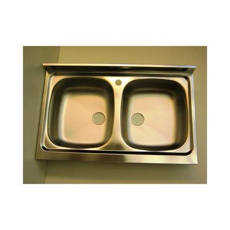 lavello da appoggio cucina lavello inox 2 vasche da appoggio 80 x 50 ricambio cucina