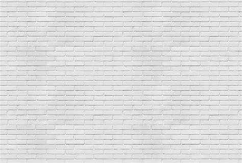 trompe l oeil briques blanches par scenolia