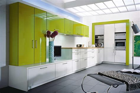 alto brillo high gloss puertas de cocina como espejos